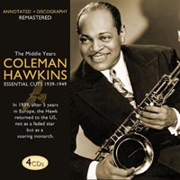 Coleman Hawkins The Middle Years