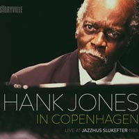 Hank Jones In Copenhagen