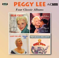 Peggy Lee Four Classic Albums