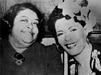 Billie Holiday with her mother