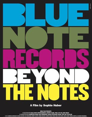 Blue Note Records Beyond The affiche des notes