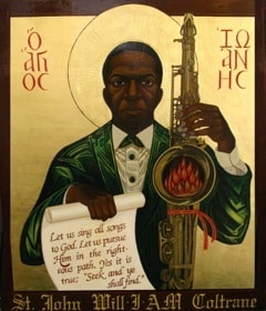 Saint John Coltrane Church logo