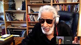 Sonny Rollins in conversation