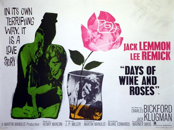The Days Of Wine and Roses poster