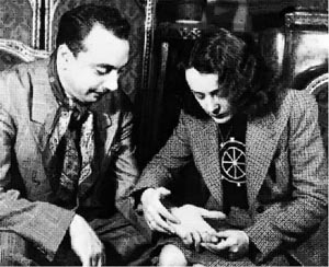 Django Reinhardt and Edith Piaf