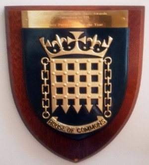 Parliamentary Jazz Awards shield