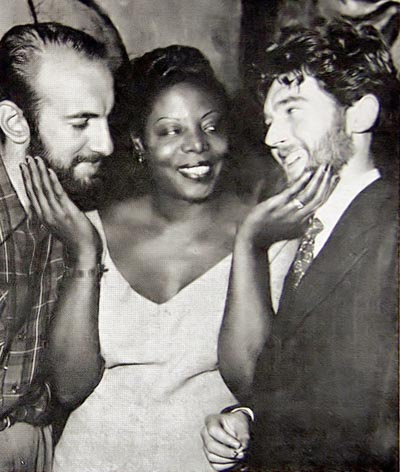 Sandy Brown Mary Lou Williams and Johnny Parker